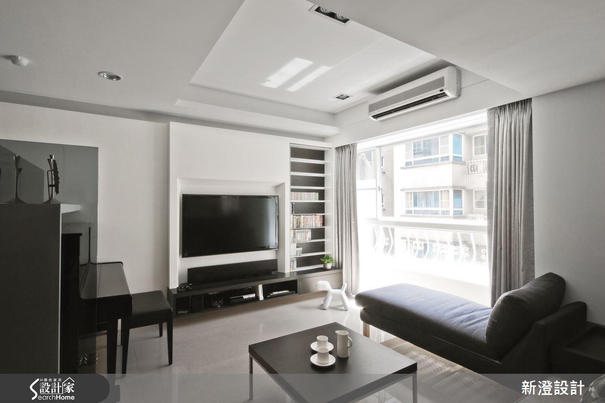 貼心又時髦的好設計! 中古屋變身 40 坪現代舒適宅