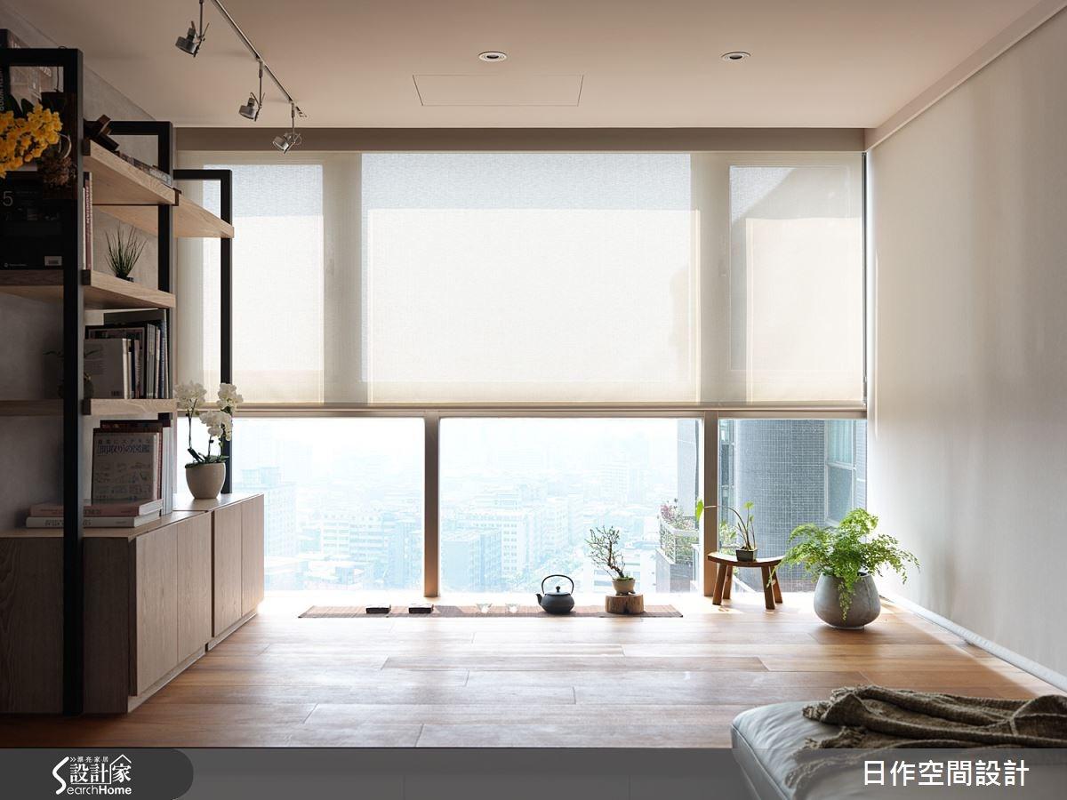 為都會生活覓得一分禪味 打造多層次 32 坪日式簡約宅