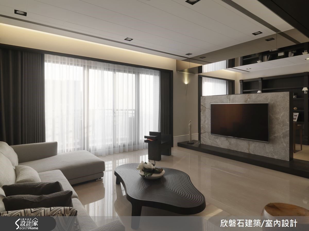 收納設計藏於無形 創造更開闊的 70 坪舒心人生