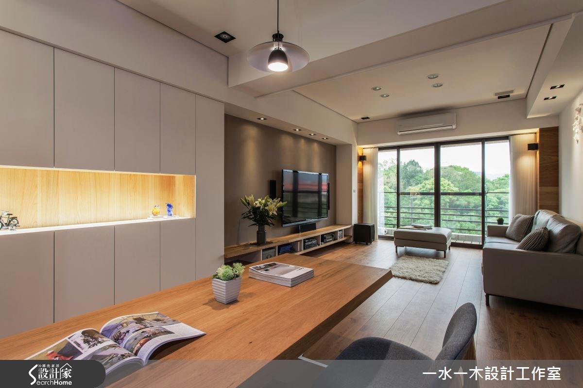 金質木色簡約舒壓宅  25 坪也可以擁有舒適三房!