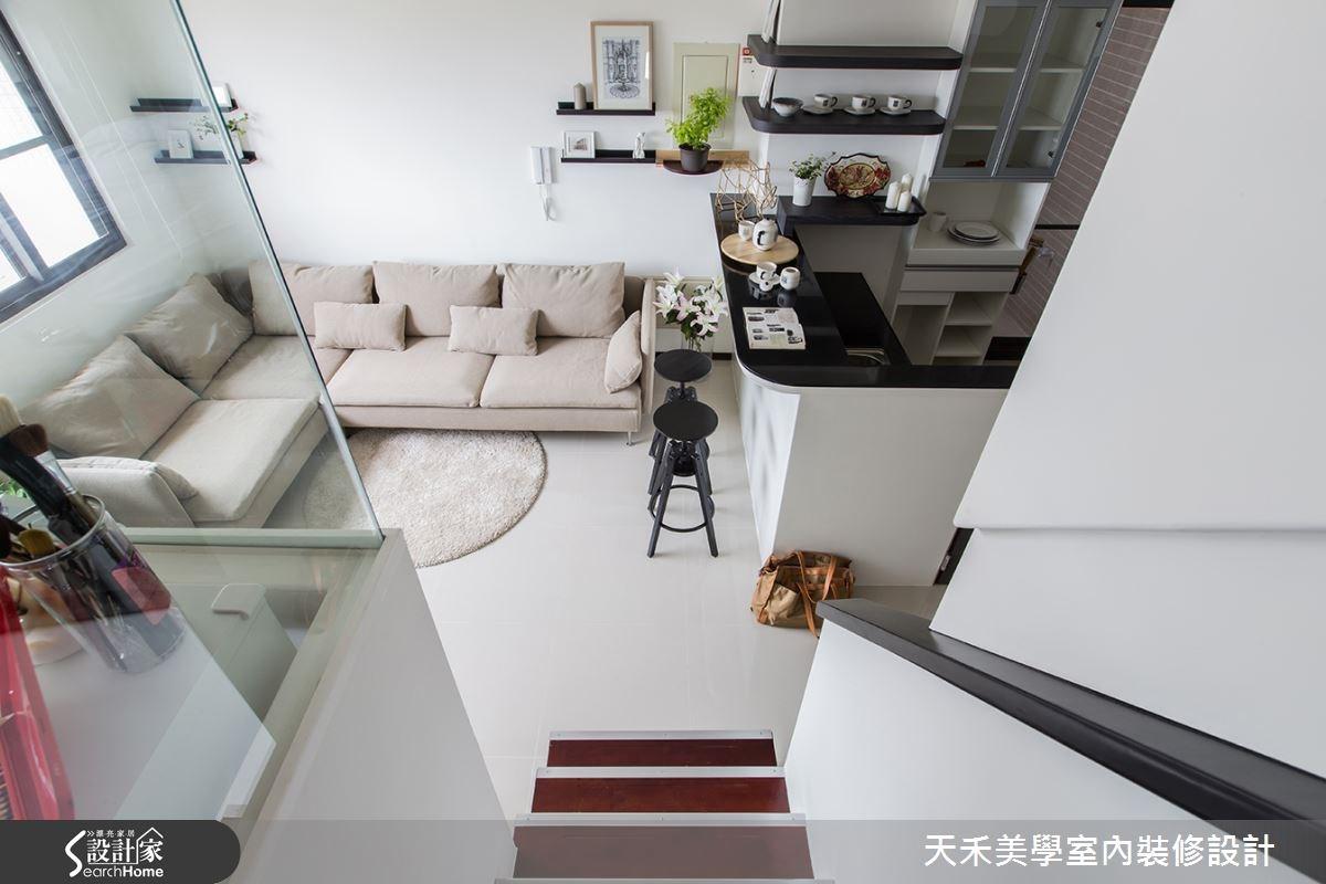 19 坪也有 3 房 2 廳! 好超值老少咸宜北歐宅