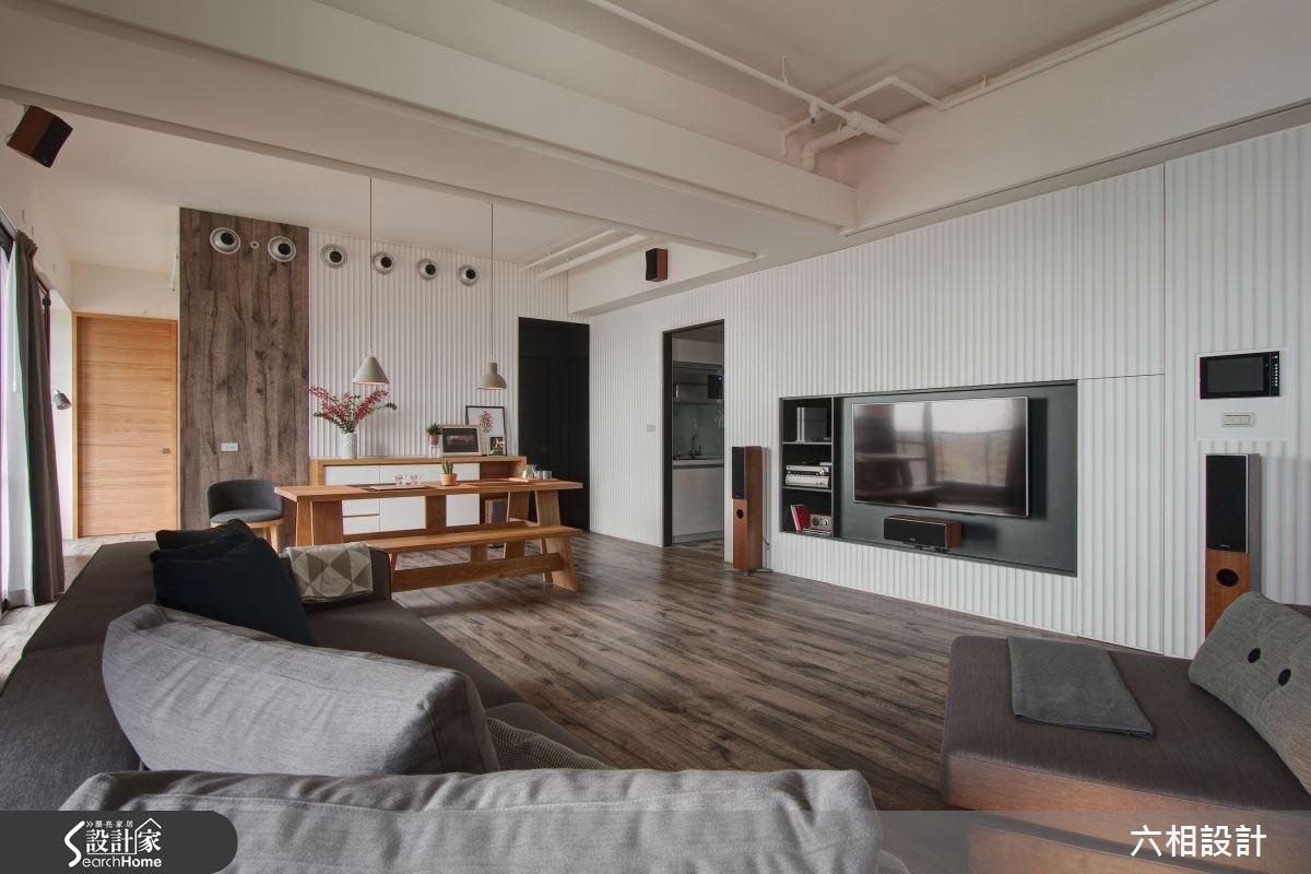 兄妹合購的 29 坪度假居宅  簡約不簡單的自然風格
