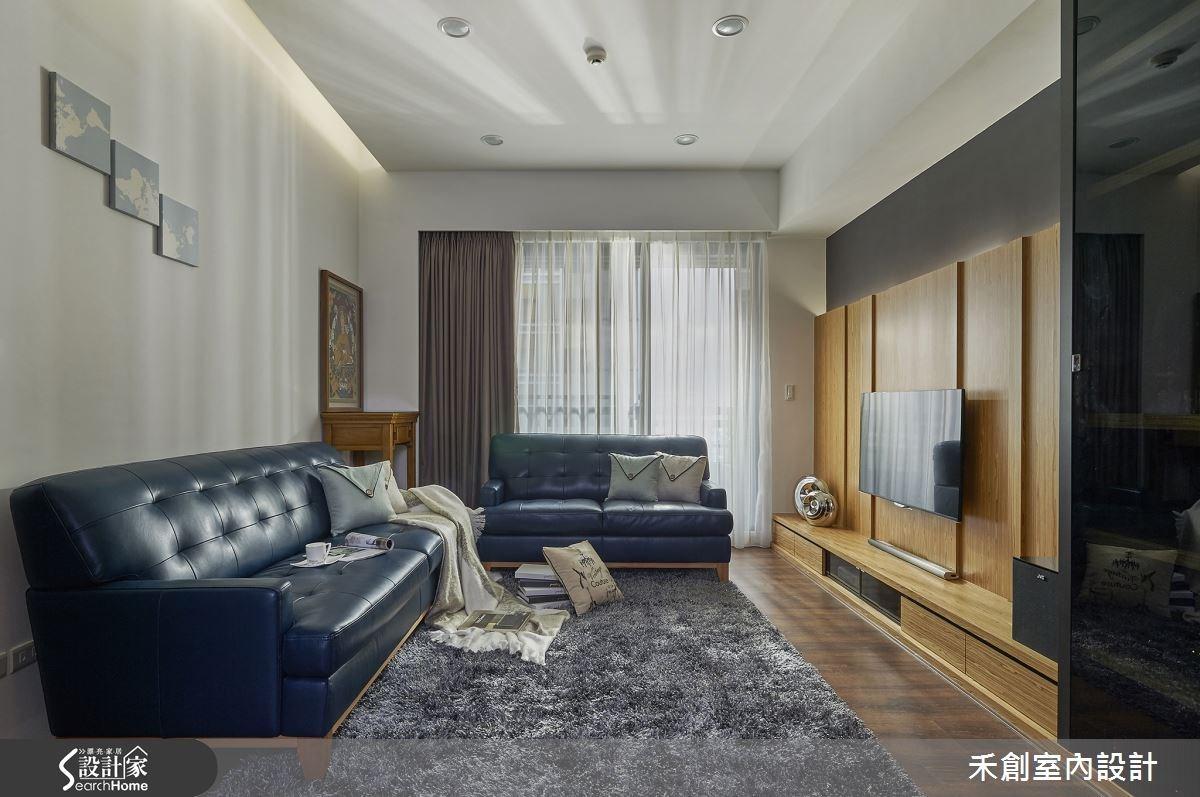 藍調 X 暖木 X 光影 這就是我們夢寐以求的休閒宅!