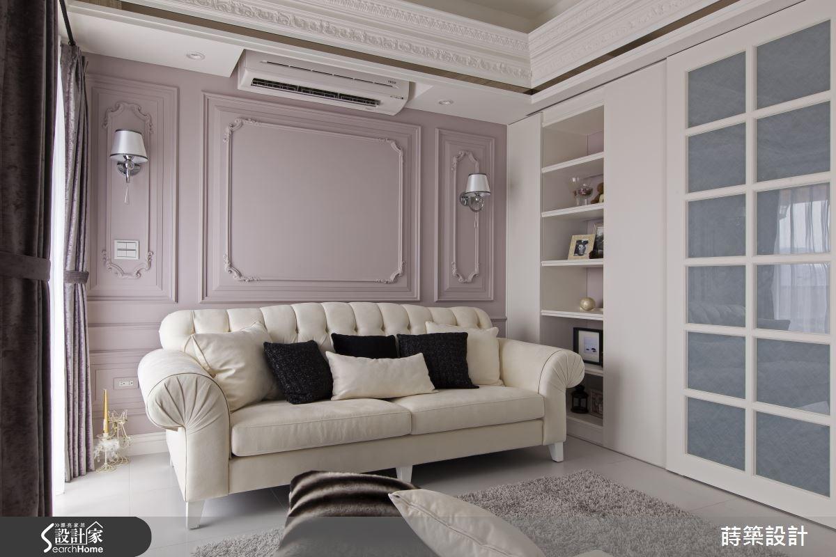 大女孩的莓果色珠寶盒  20 坪還能擁有夢幻更衣間 + 化妝室!