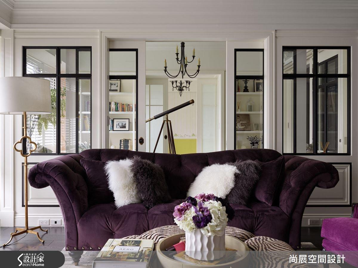 「紫」醉金迷的細膩語彙 歐式貴族專屬的新古典主義