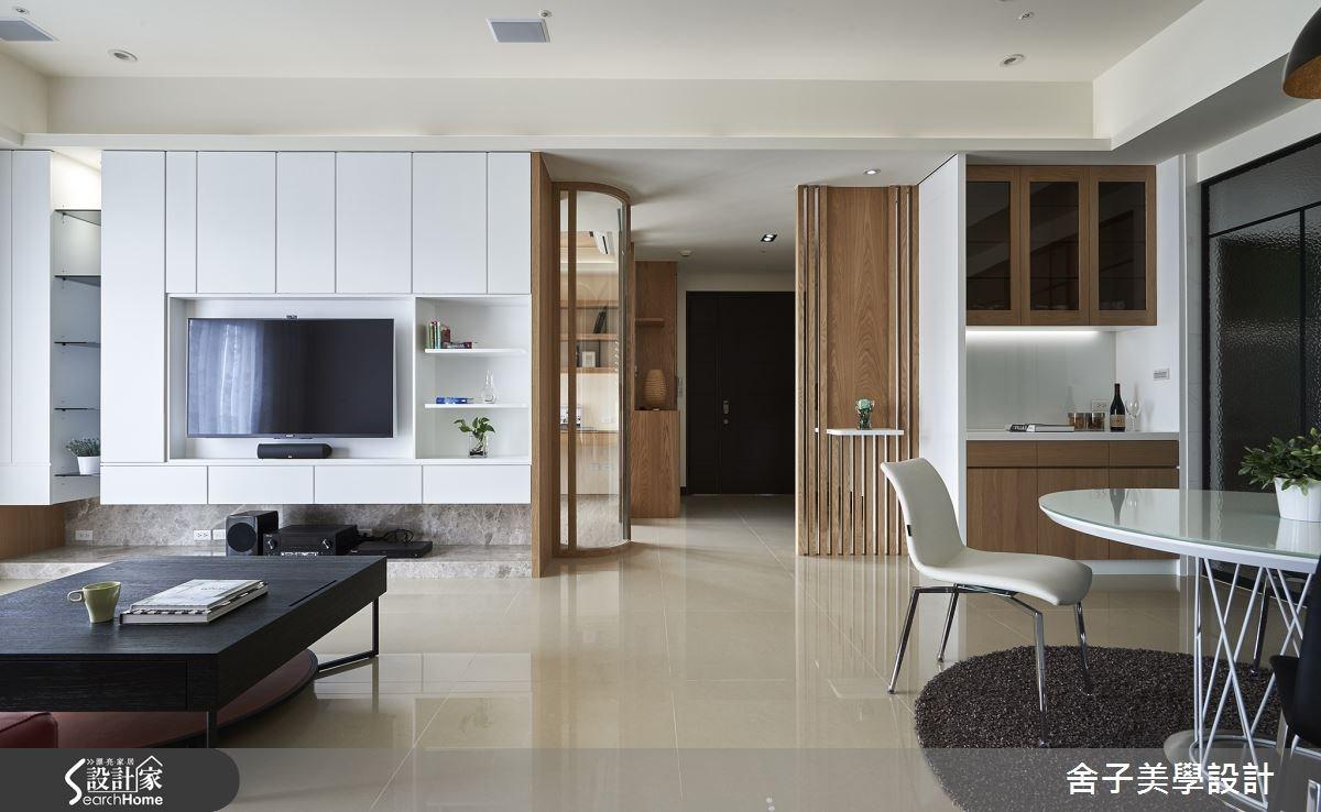45 坪日光滿映輕暖宅 悠活簡約的好設計