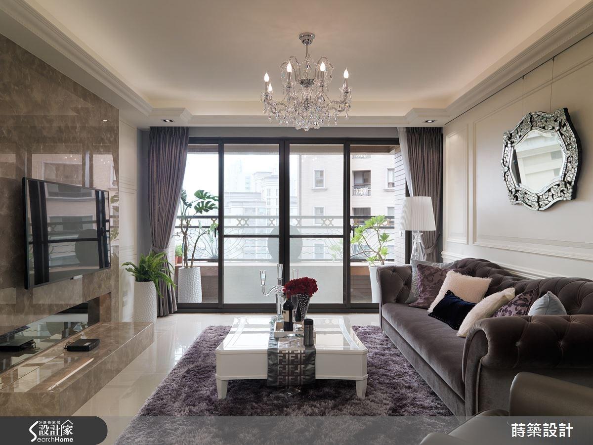甜蜜小確幸三口之家!氣質滿分 35 坪新古典居宅