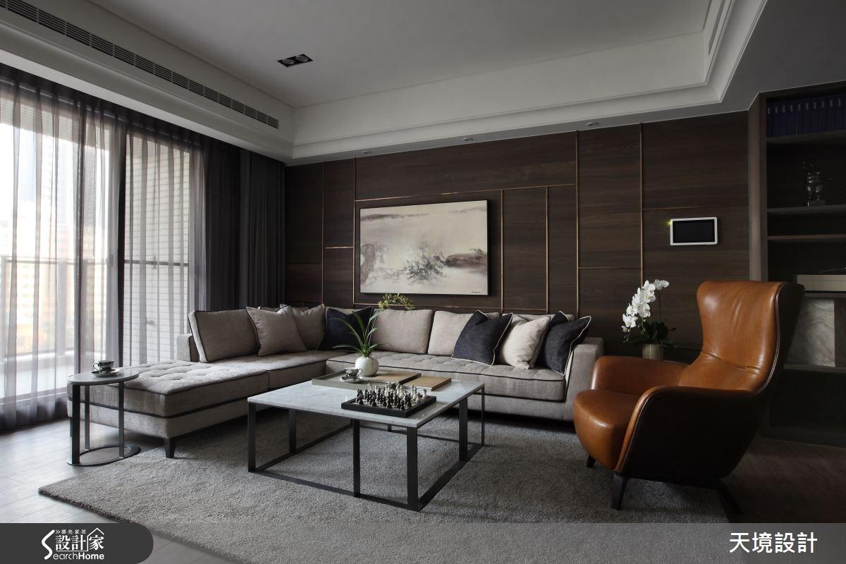 高質感享受! 瀰漫溫雅涵養的 50 坪奢華大宅