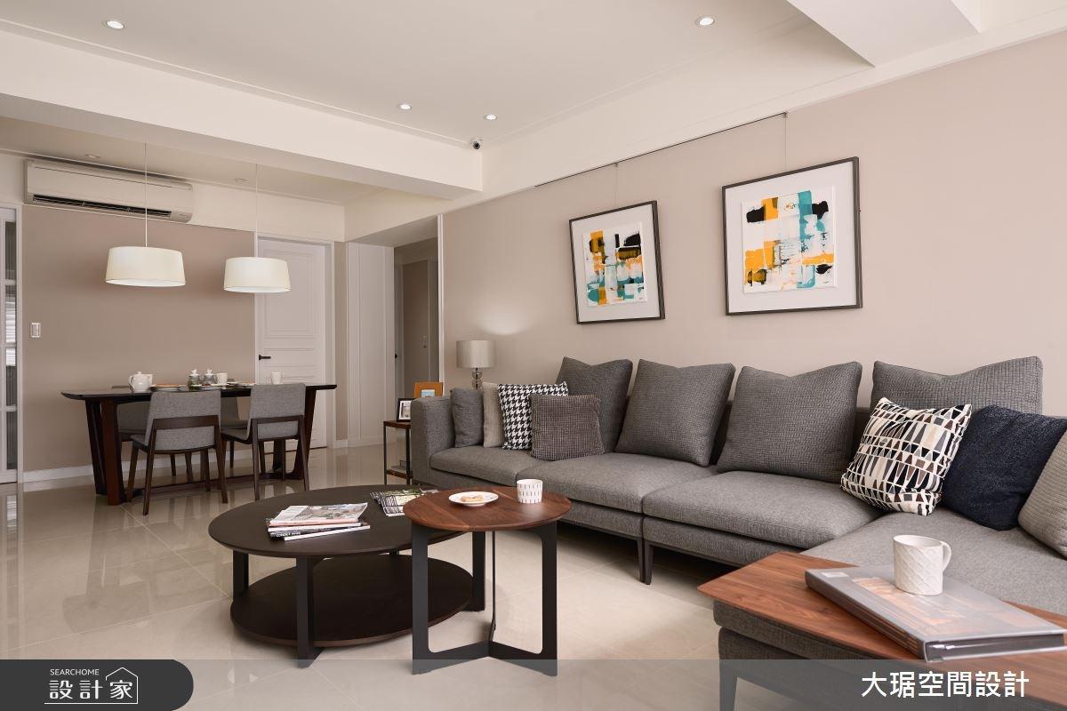 純色串連的機能設計  讓一家人都愛上的美式宅!