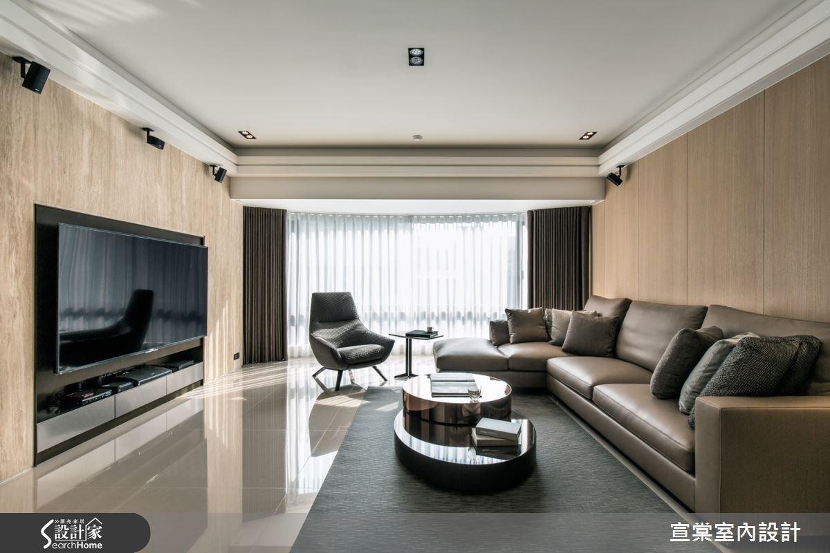 舒適機能 現代時尚 追求極致完美的 60 坪居宅