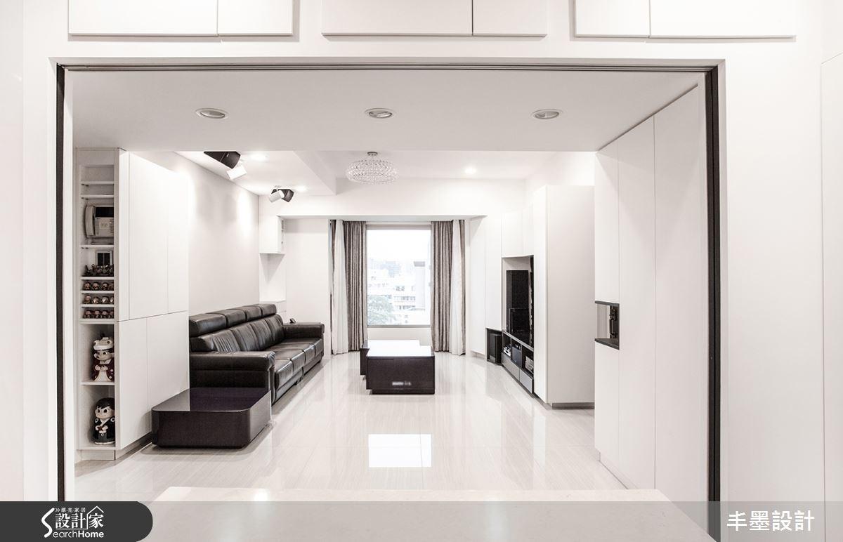 走進黑白極簡世界  框出我們家的溫馨景象