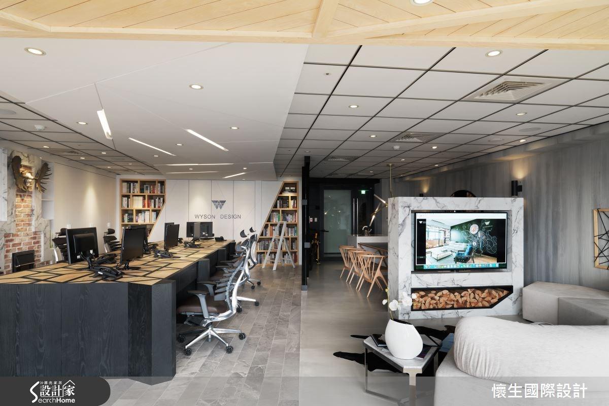 創意是生活,也是態度! 有型有款的設計師辦公室