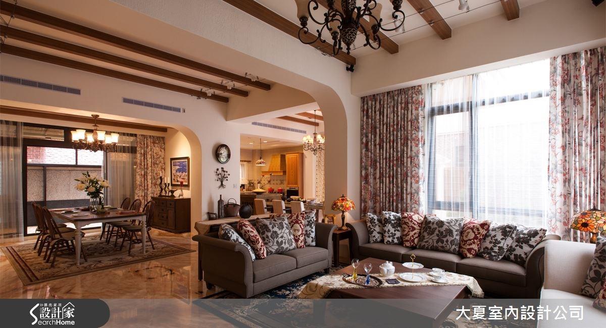 新天鵝堡的夢幻魅力 讓百坪別墅重返巴洛克時代的璀璨!