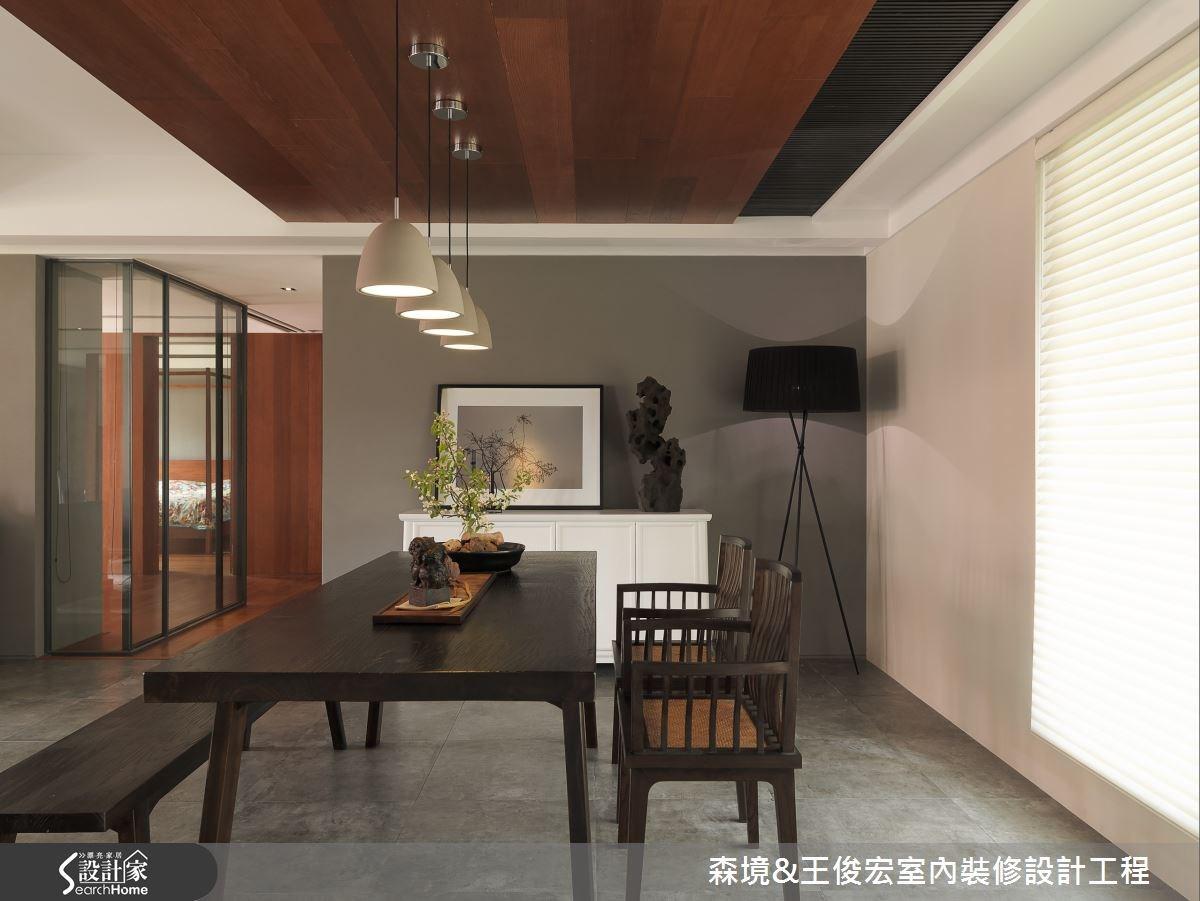 用設計與自然融合,使空間和環境對話的人文住宅
