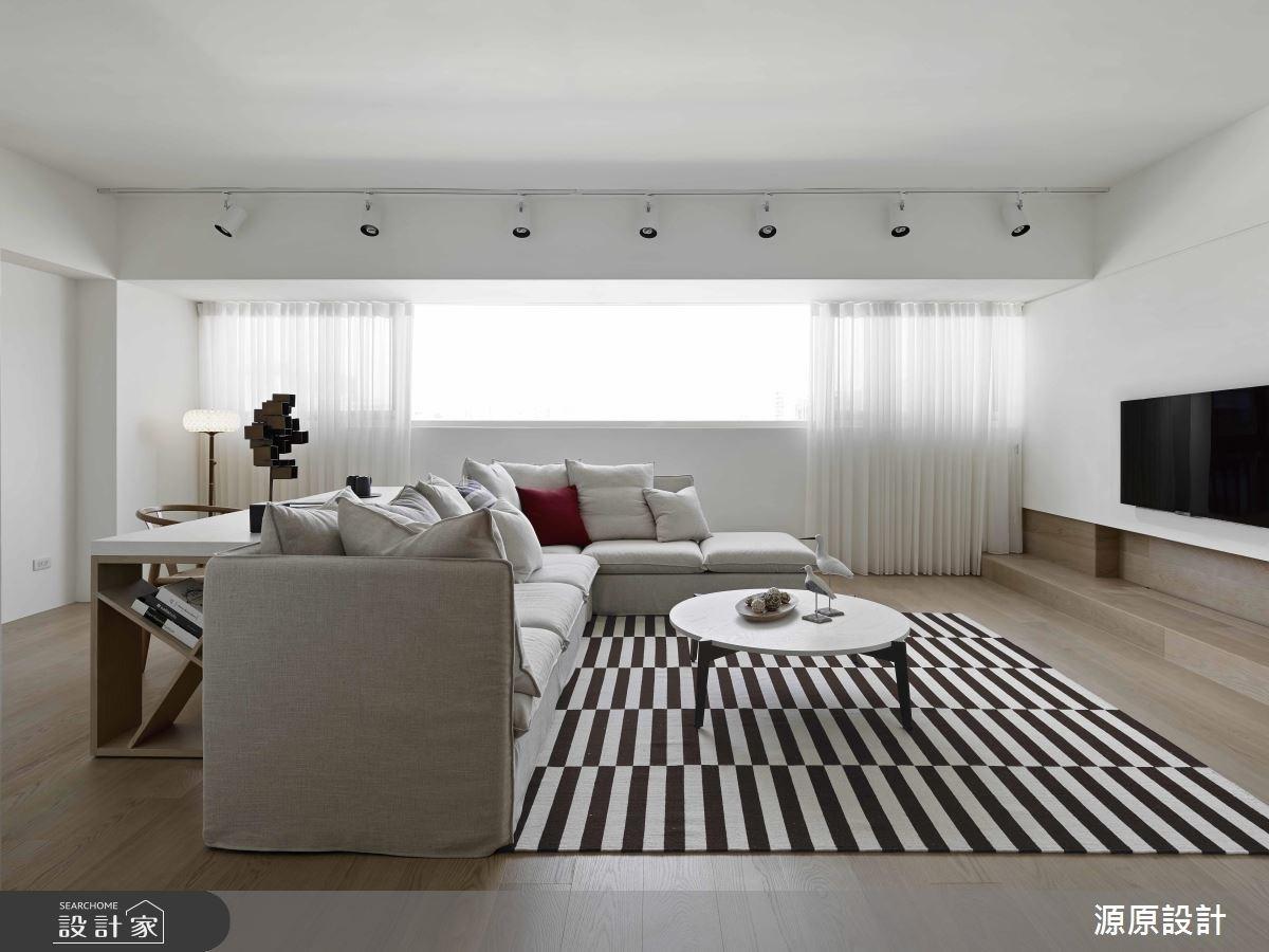 純淨零雜質! 徜徉日光的 24 坪寧靜自然居宅