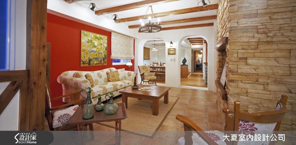 凝望西班牙小紅樓 猶如鄉村油畫的居家風景