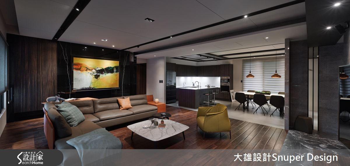 典藏藝術色彩 成就 50 坪名流現代宅