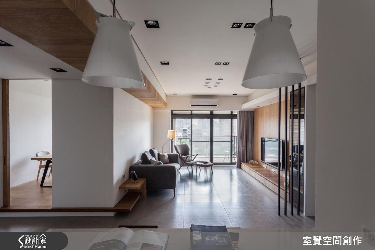 現代宅遇上北歐風 譜出 35 坪明媚風景