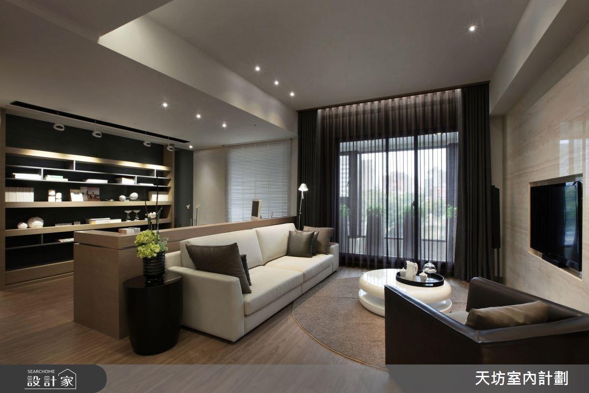 用光替空間作畫 27 坪新東方風純淨好宅