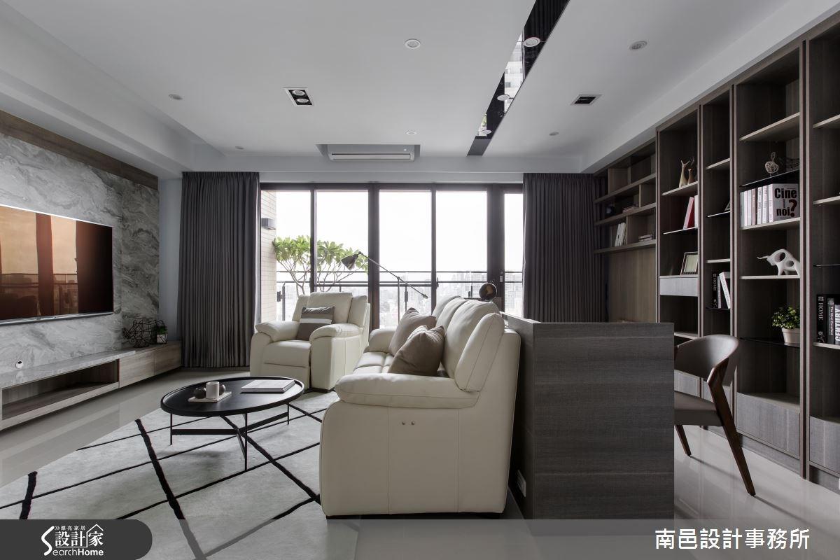 自然紋理X簡約質感 通通融進32坪現代宅居