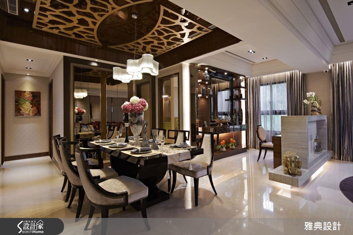 來到新泰式場景 60坪宅居感染豔彩時尚