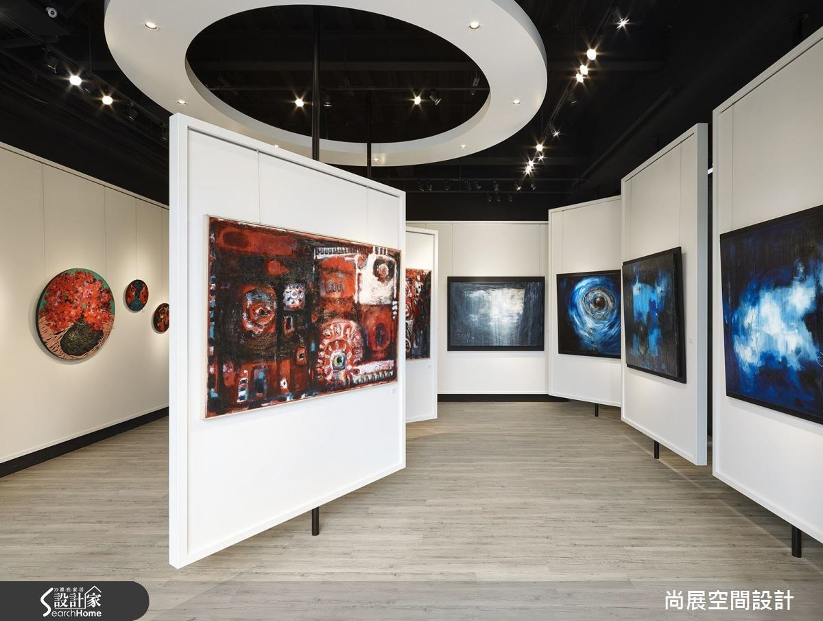 現代美式風詮釋有機藝術空間! 歡迎來到蘇菲亞的展覽殿堂