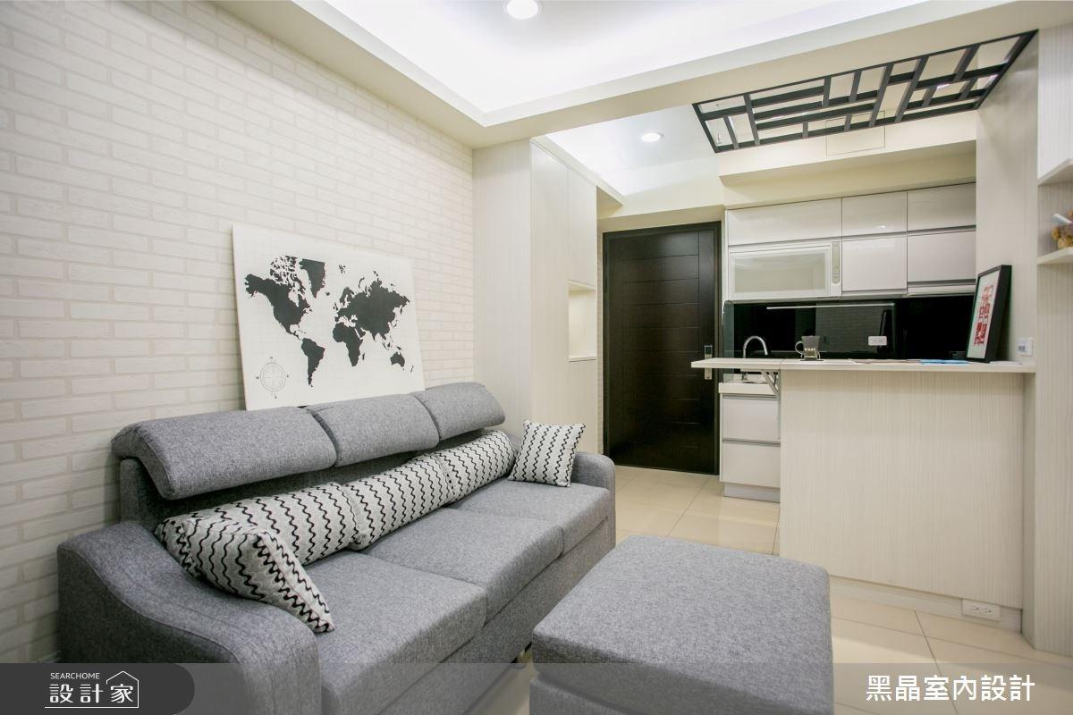 強大機能+風格滿點 讓12坪小宅放大了!
