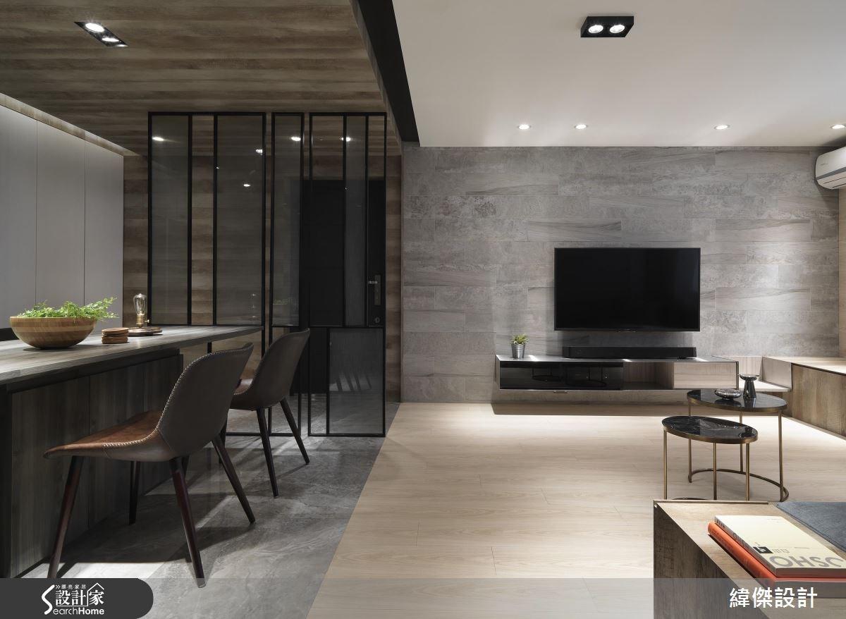 把空間變高一點! 改造 28 坪老舊國宅 變身舒適透亮居所
