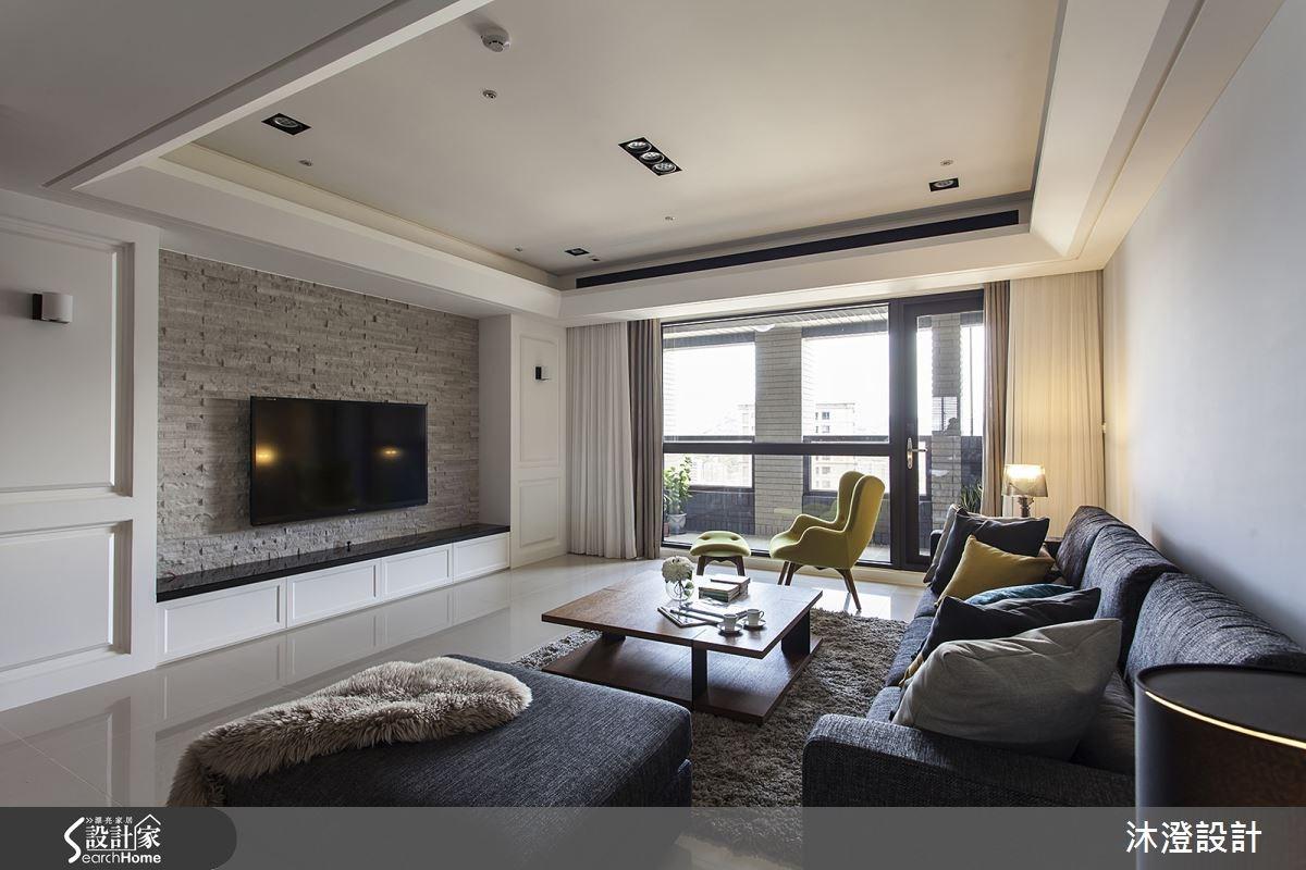 56坪陽光舒壓宅 美式與現代風格輕特調