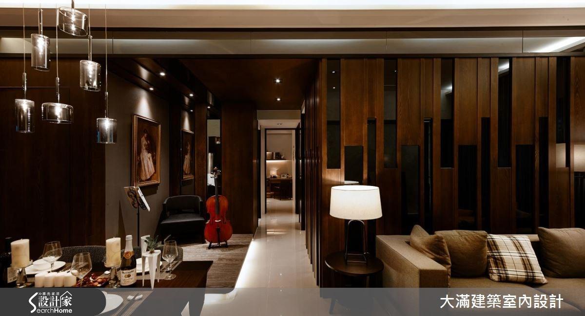 時尚又優雅!在 35 坪現代精品宅 譜寫生活的華麗樂章