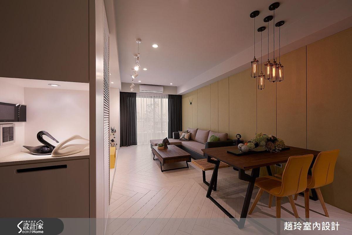 現代宅的 3 個隱藏祕密! 答案在沙發牆、臥房、電視牆
