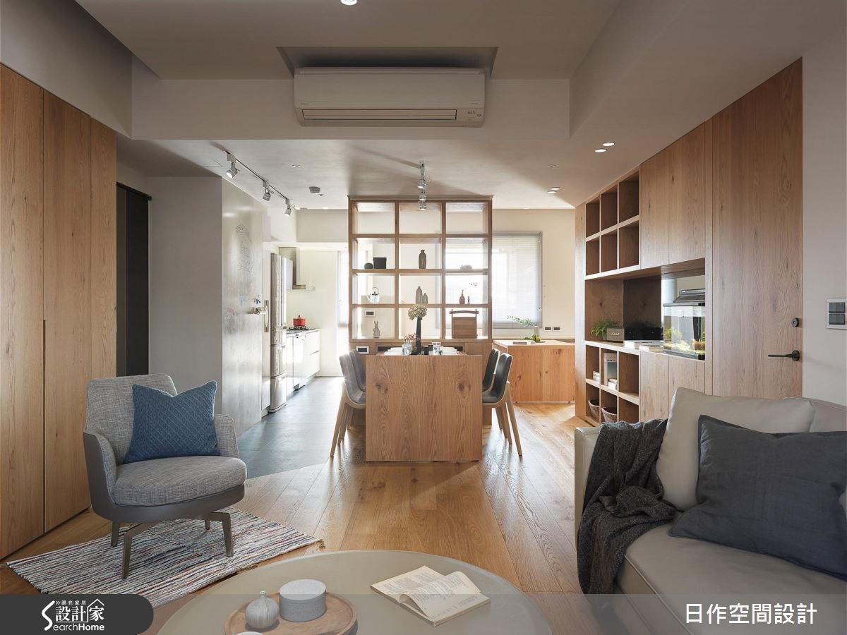 用日光劃出的開放動線 打造 30 坪零死角日系親子宅!