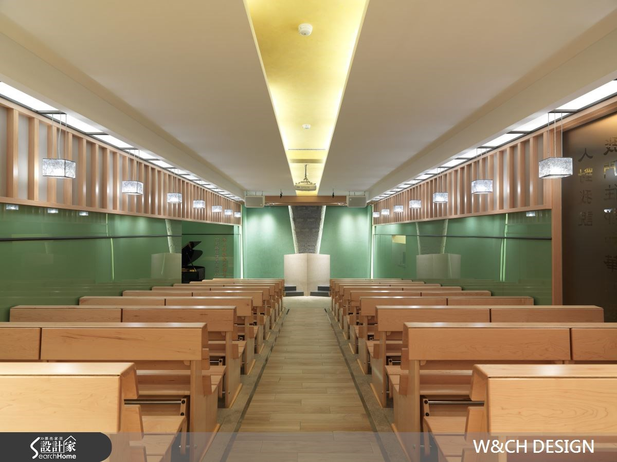 就用色彩定調風格!教堂的粉綠調新視野