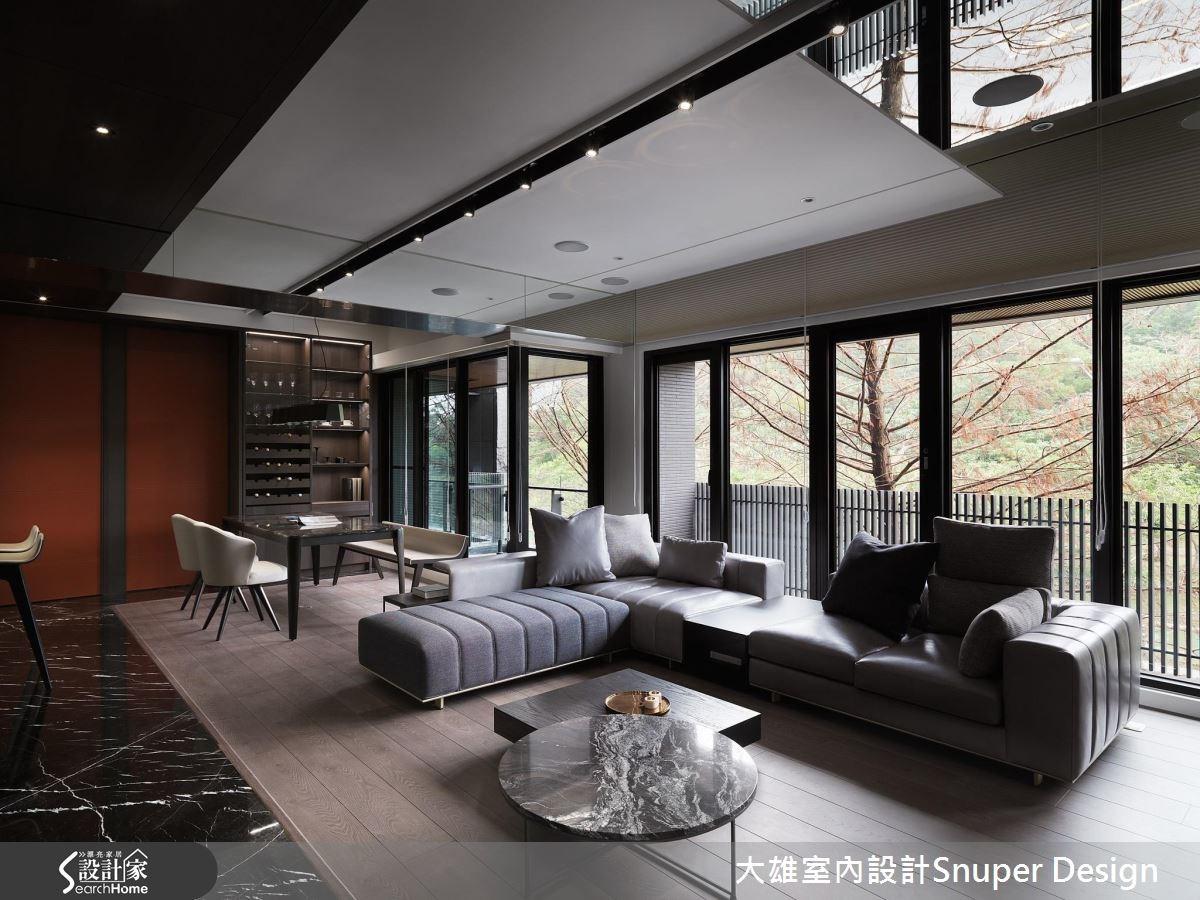 陽光正爛漫!與森林綠意同棲的 36 坪現代風寓所