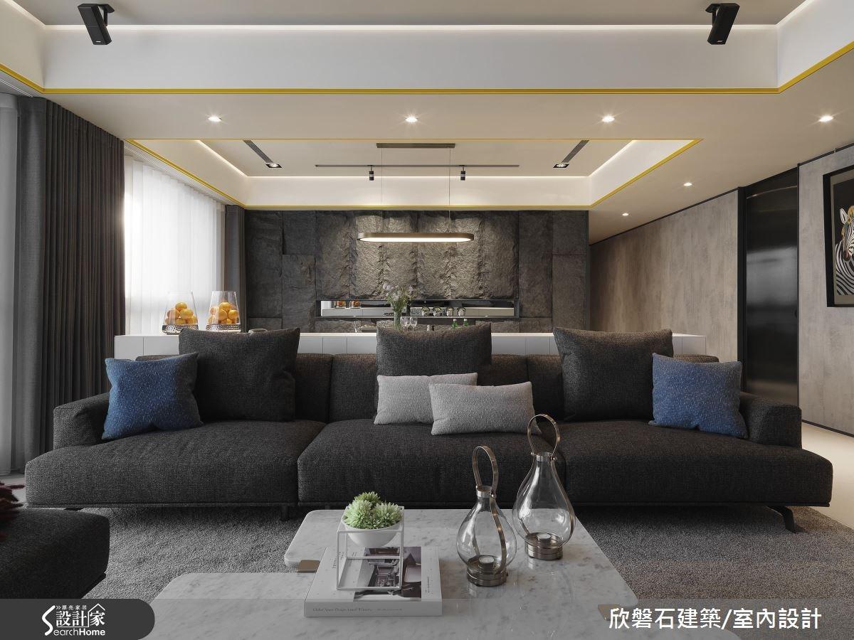 魅力值全開! 展現時尚風範的 71 坪現代風大宅