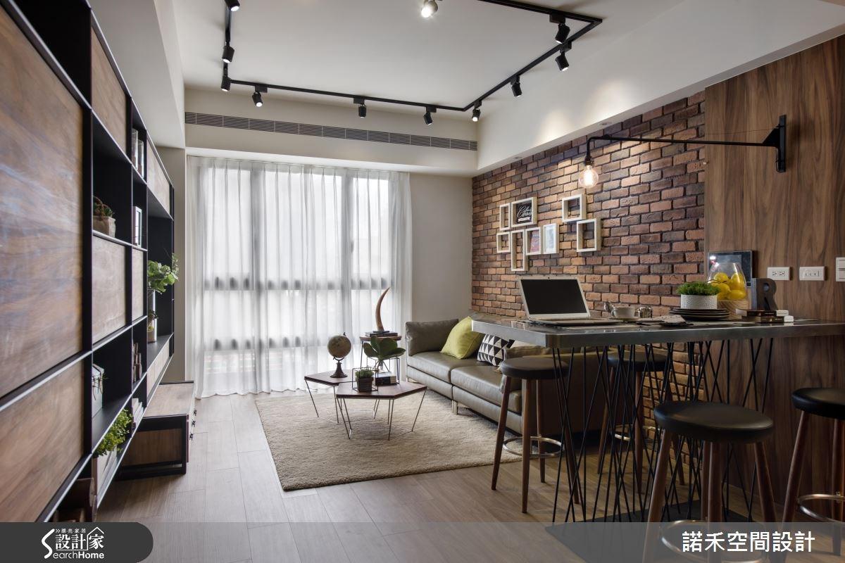 韓國華僑推薦設計師!讓人好想住的 Loft 風美型公寓
