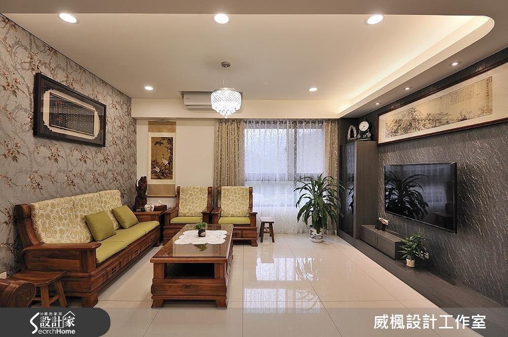 入住東方人文宅 融入現代與中式的25坪宅邸