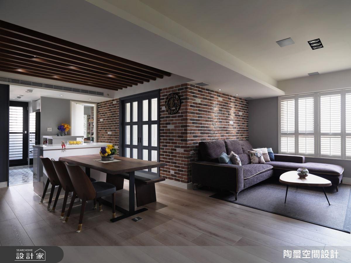 住進紅磚牆美式風公寓! 雙重擁有好採光 x 好格局
