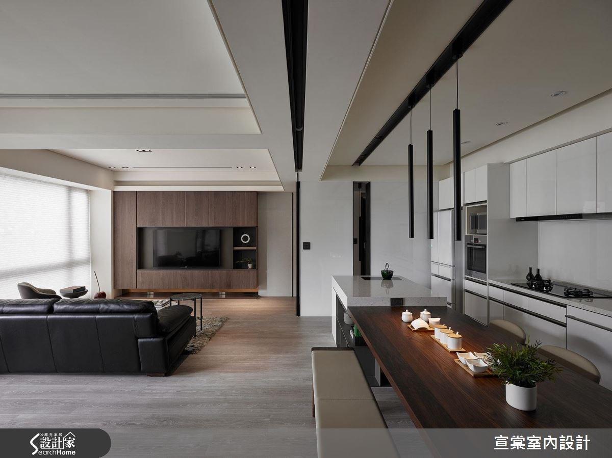原木質感+滿點收納 植入禪意的現代風宅居