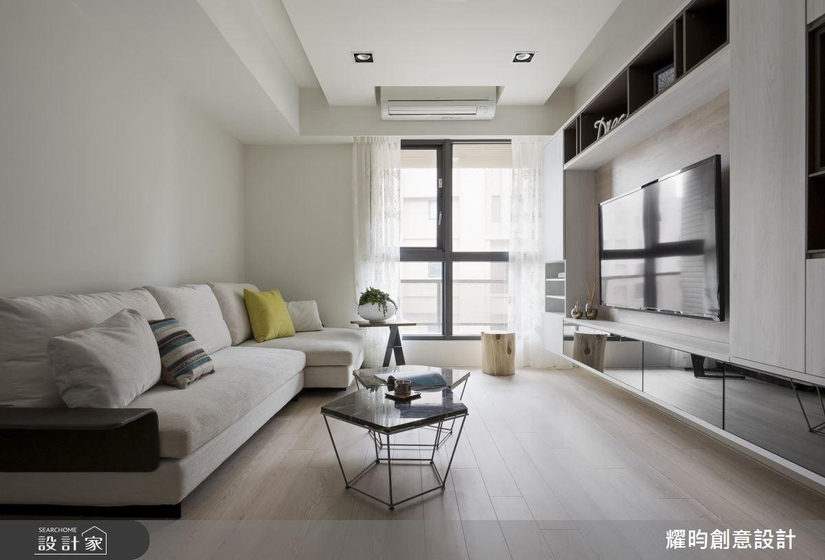 25 坪 3 房 2 廳沒問題! 還有好採光 + 空間感 + 透亮北歐風