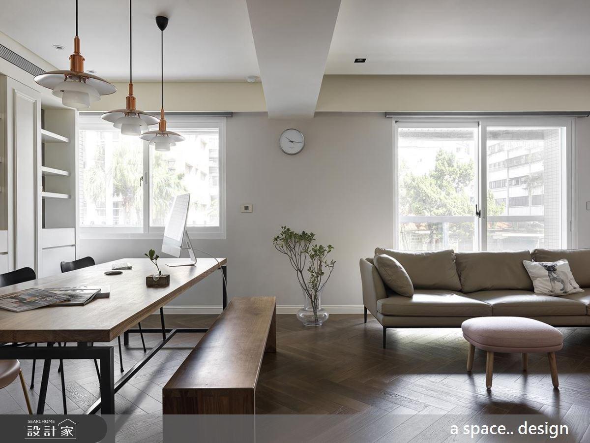 優雅過日子!藏著法式老靈魂的 50 坪陽光現代宅