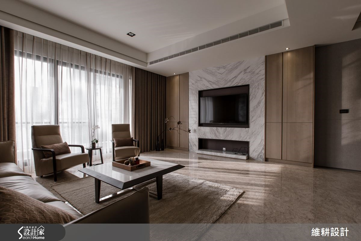 高品味現代風透天別墅  自在悠遊的居住主張