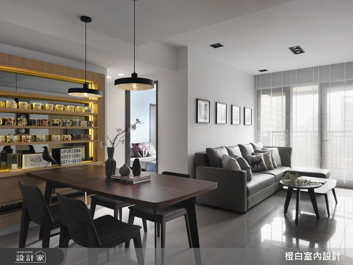框一道咖啡杯窗景!為一家 4 口打造超溫馨 27 坪公寓