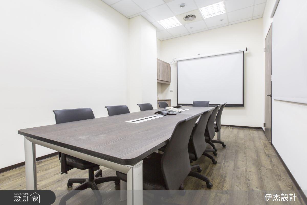 70坪簡約現代風 打造貼合人心的樸實辦公室