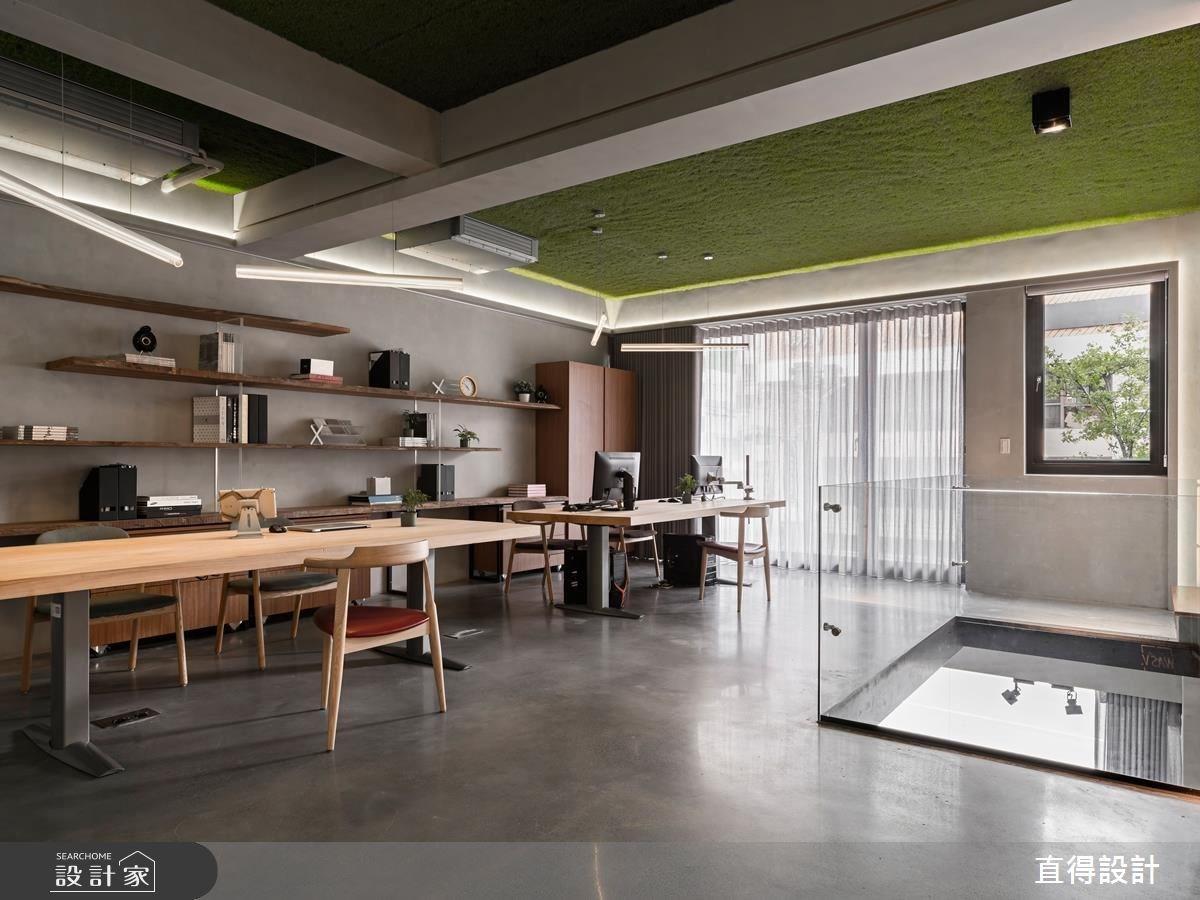 顛覆你的想像!綠草地 mix 工業風的超新奇辦公室