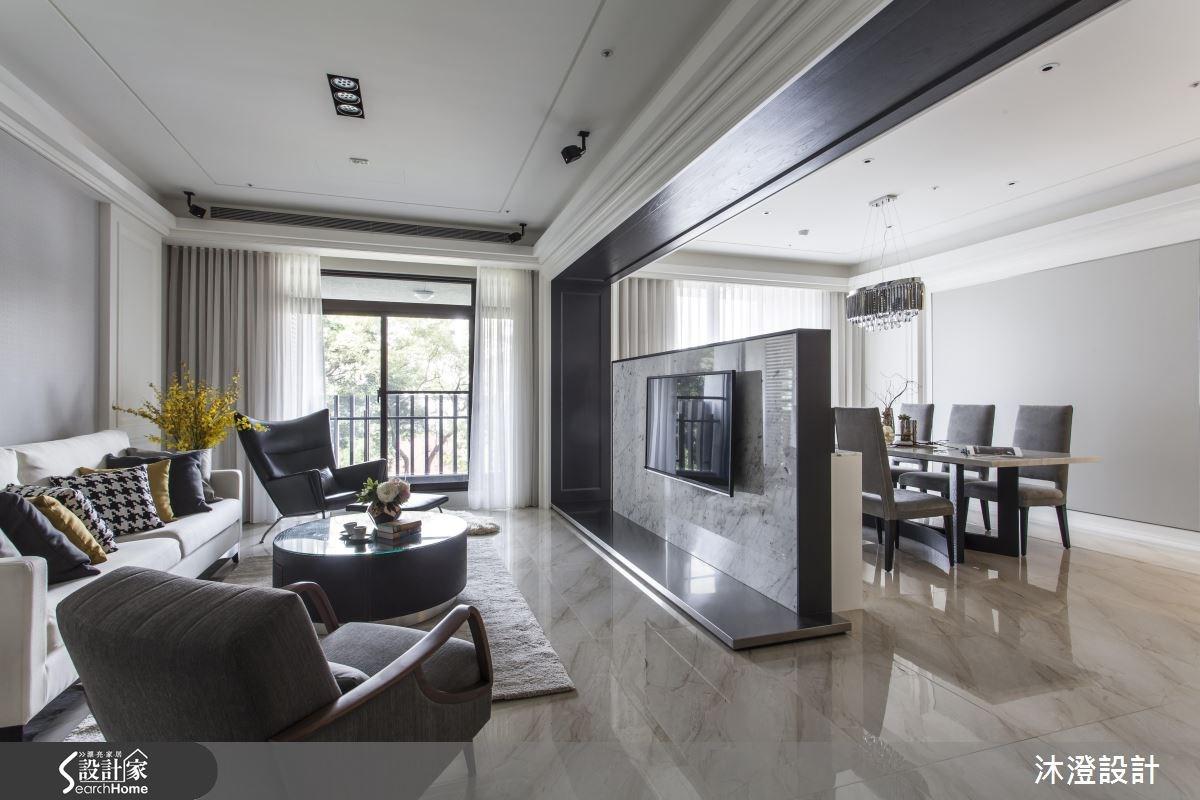 兼容收納與美學 迎向開闊明亮的新古典宅