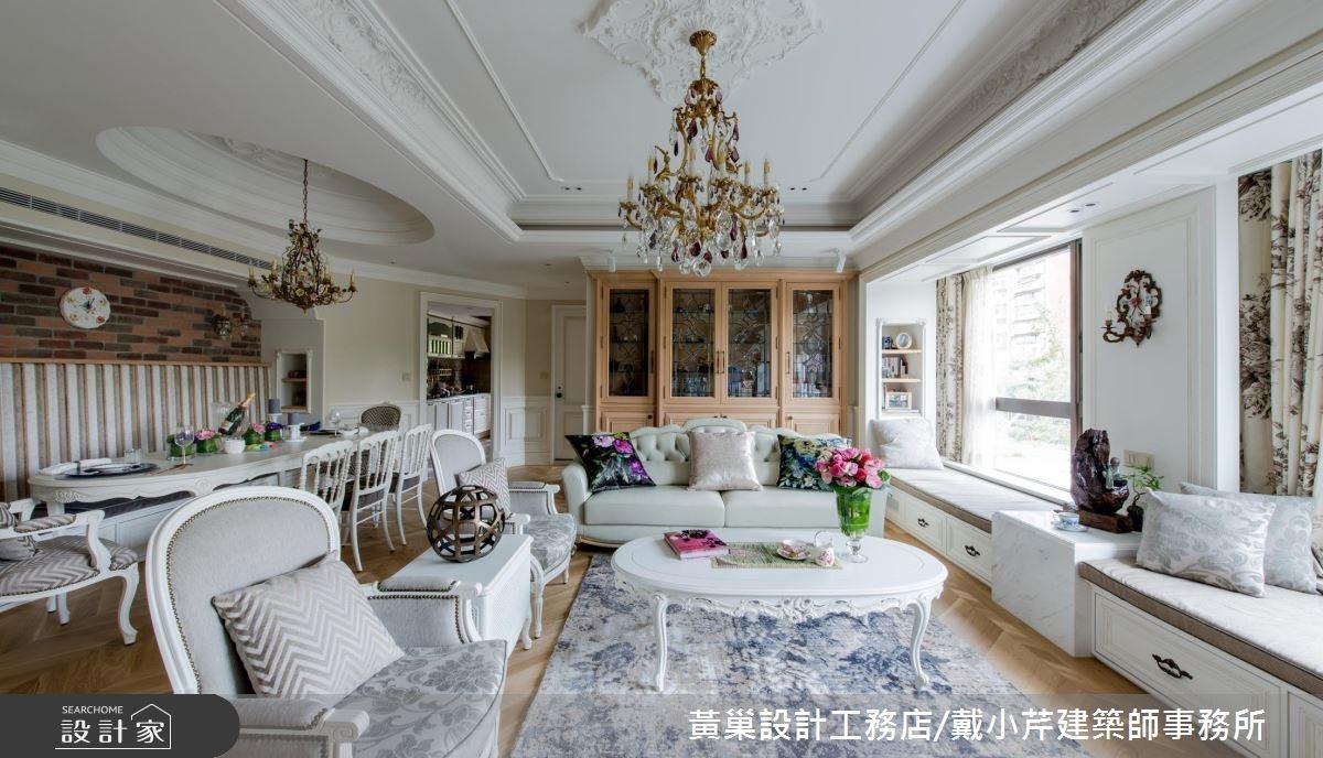 獨家浪漫訂製!打造夢想中的 45 坪法式新古典居所