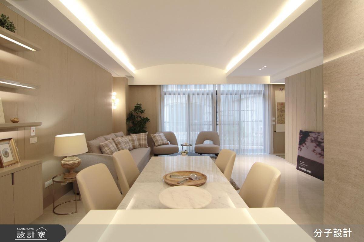 生活紓壓良方!滿滿溫馨感的 60 坪簡約輕暖宅
