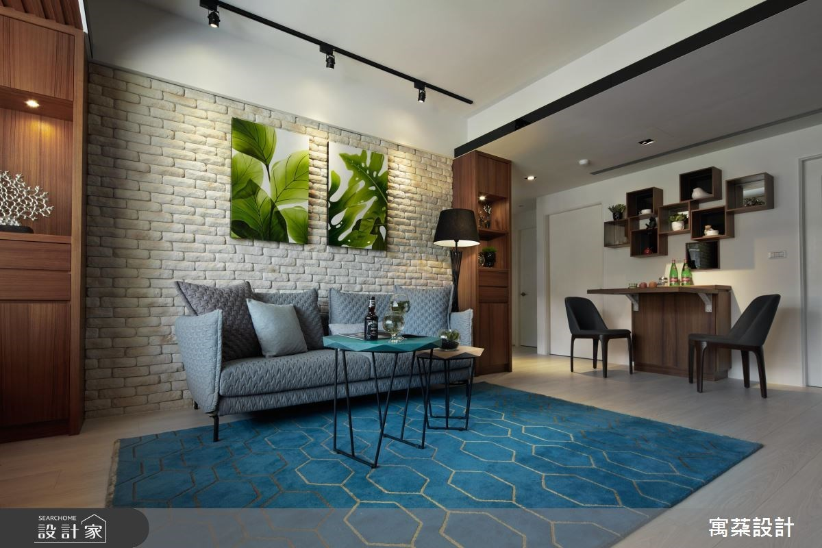 客廳狹窄、沒有餐廳也不怕! 20 坪也能打造放鬆寬敞家