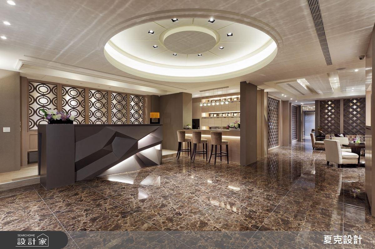 奢華風接待中心 訂製專屬的空間魅力